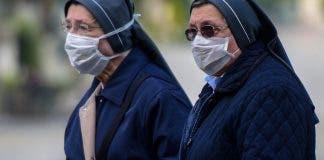 Nuns In Masks