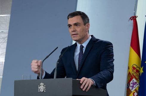 Pedro Sanchez Comparecencia 2020