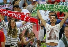 Sevilla And Betis Fans Together