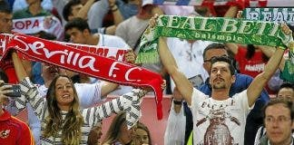 Sevilla And Betis Fans Together