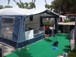 Touring Caravan And Awning La Torreta Benidorm