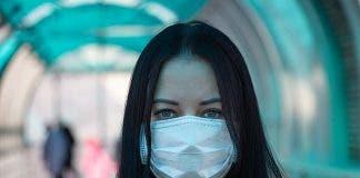 Coronavirus Covid 2019 Girl In Mask Fear