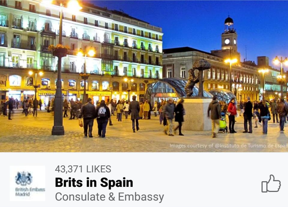 Brits In Spain
