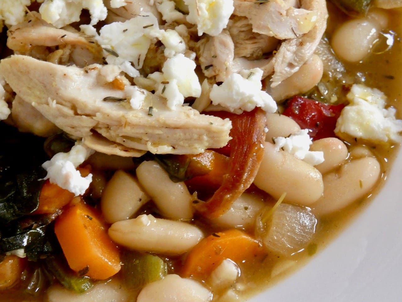 Chicken Ham And White Bean Stew 2