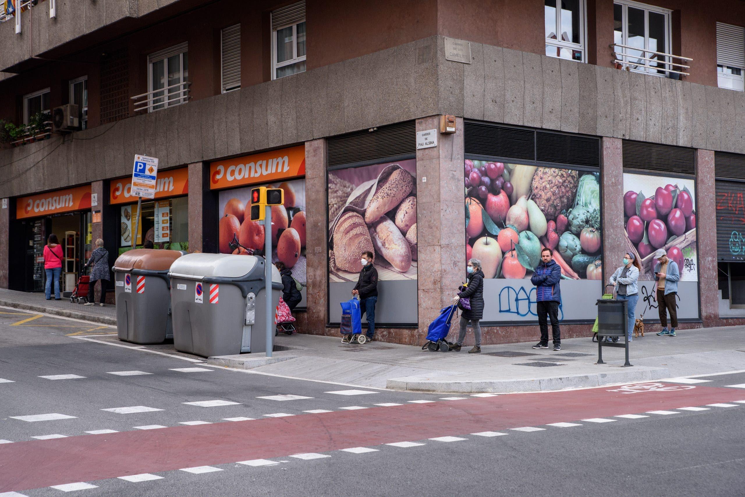 Supermarket Queue In Guinardo District