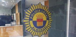 Almoradi Local Police Badge
