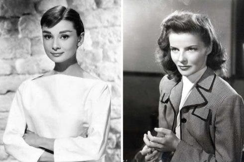Audrey And Katharine Hepburn