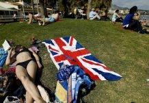 British Tourists Spain