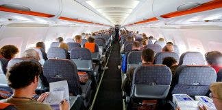 Passengers On Easyjet Flight