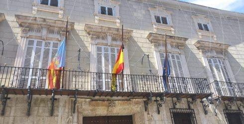 Half Mast Flags
