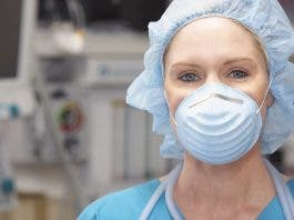 Nurse With Face Mask