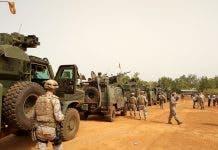 Spanish Soldiers Mali