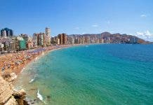 0_benidorm Spain Levante Beach