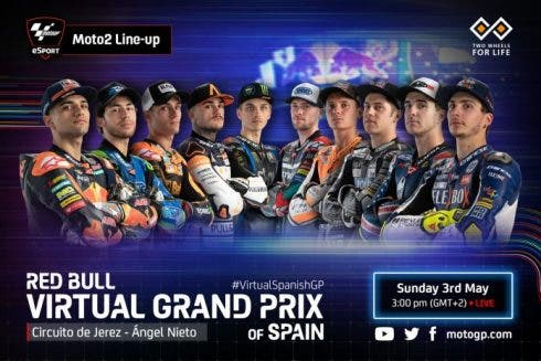 2020 Motogp Virtual Grand Prix Spain Moto2 696x464
