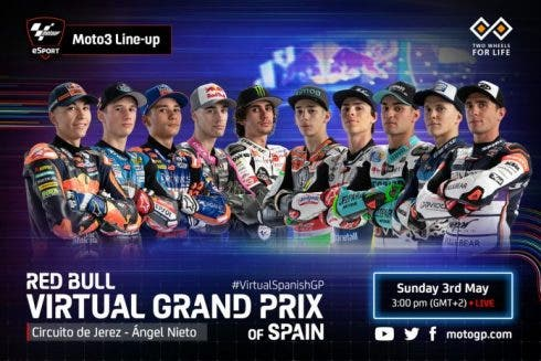 2020 Motogp Virtual Grand Prix Spain Moto3 696x464