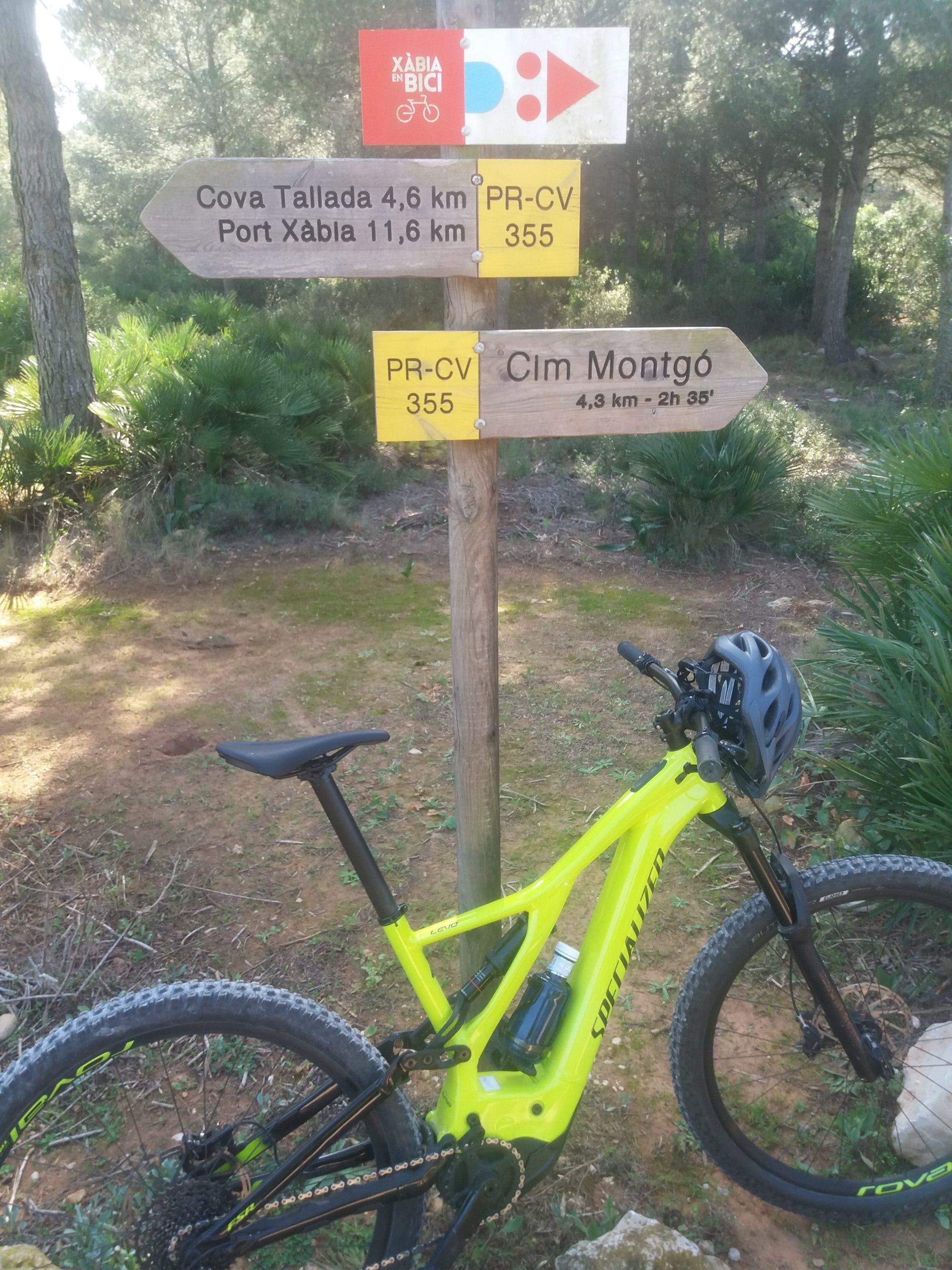 Electric Mountain Bike Denia