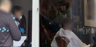 Haidresser Barber Police Policia Local