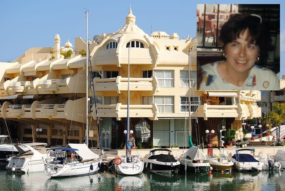 Benalmadena Puerto Marina Bernadette Cooper