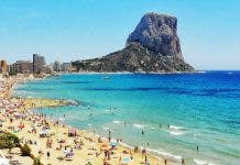 Costa Blanca Beach Calpe