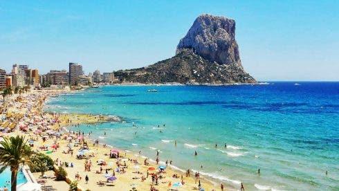 Costa Blanca Beach Calpe