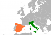 Spain And Italy