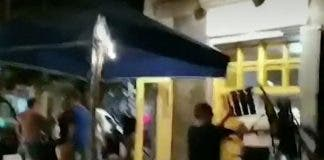 0_barcelona Restaurant Fight