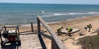 Beaches Are Sorted Out In Costa Blanca S Guardamar Months After Storm Gloria Damage