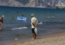 Benidorm Beach Man Sea