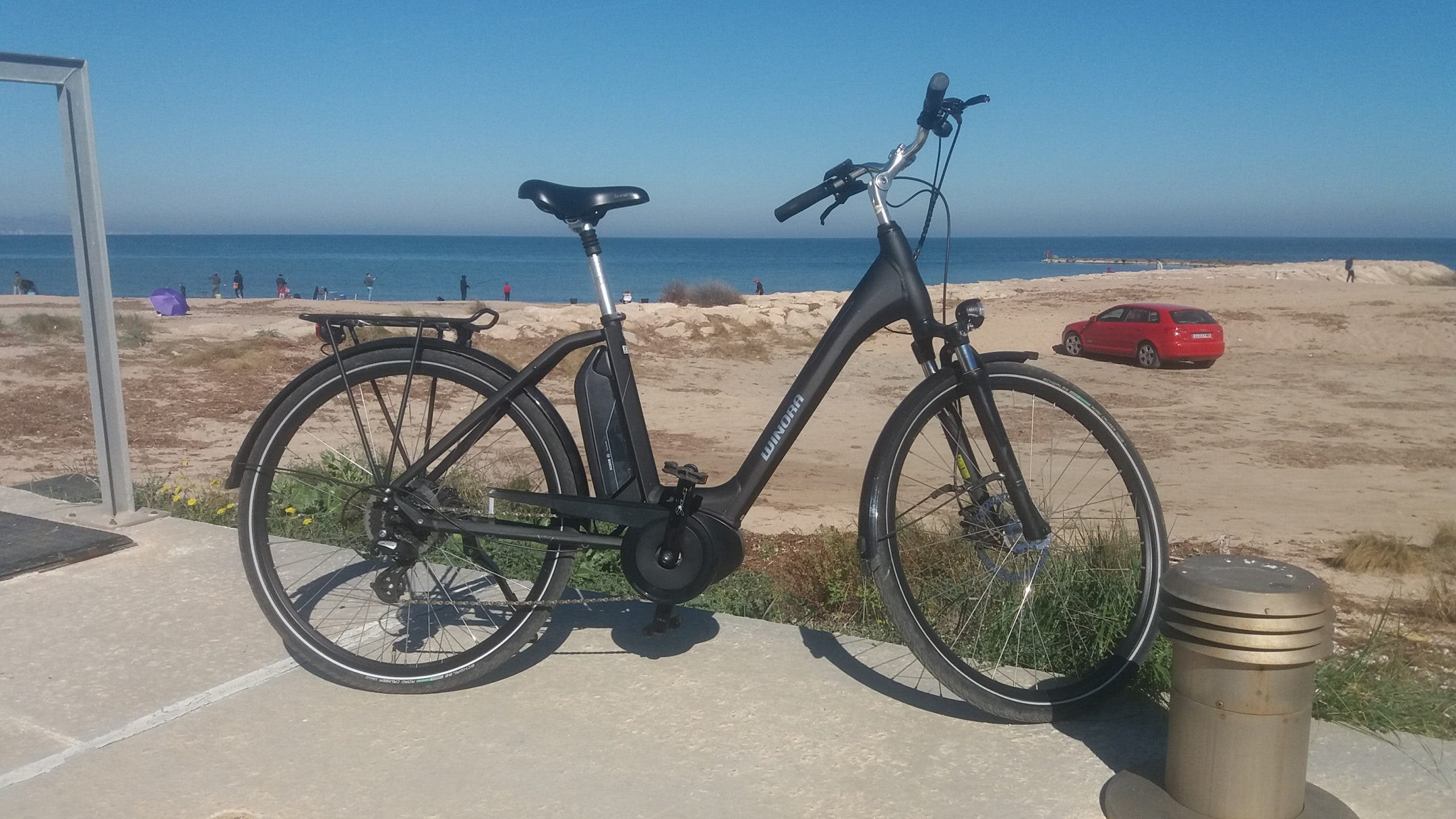 German Brand Winora Electric City Bike Javea Moraira Jalon