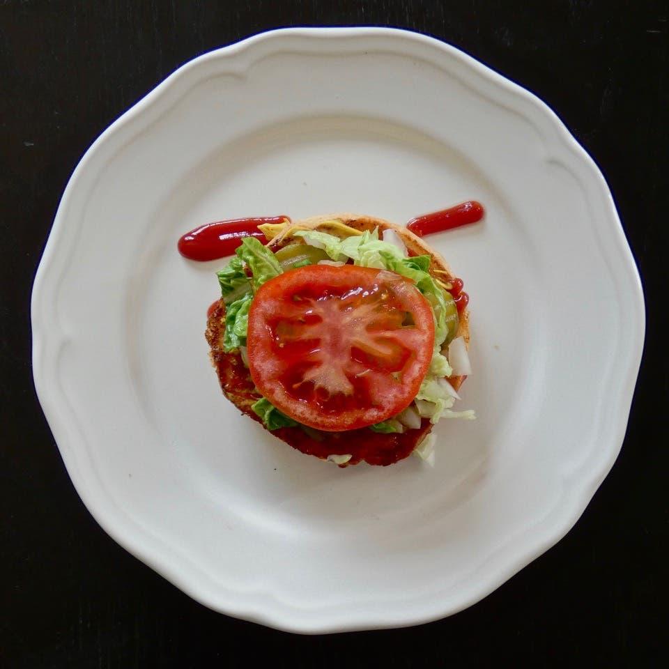 Hamburher Salad