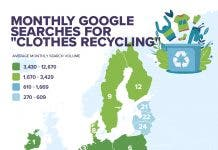 Clothes Recycling Map