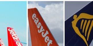 Easyjet Jet2 Ryanair
