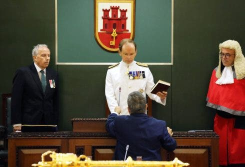 Governor Takes Oath