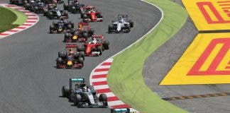 Motor Racing Formula One World Championship Spanish Grand Prix Race Day Barcelona Spain