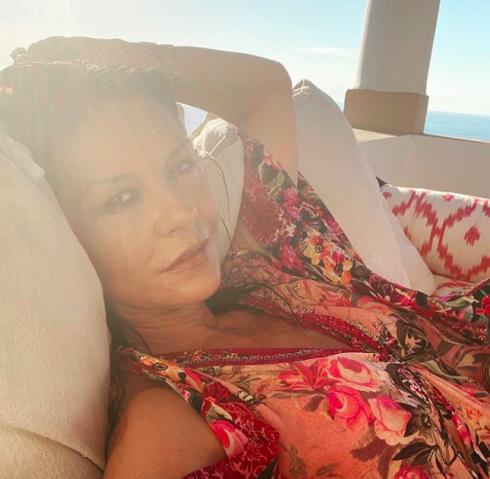 Catherine Zeta Jones Enjoys Lazy Hazy Crazy Days Of Summer In Mallorca