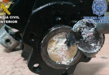 Costa Blanca Police At Alicante Elche Airport Seize Cocaine Filled Car Engine Worth 891 000 On The Open Market