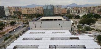 Field Hospital Built In Alicante To Help Costa Blanca Coronavirus Sufferers Is Too Hot During The Summer