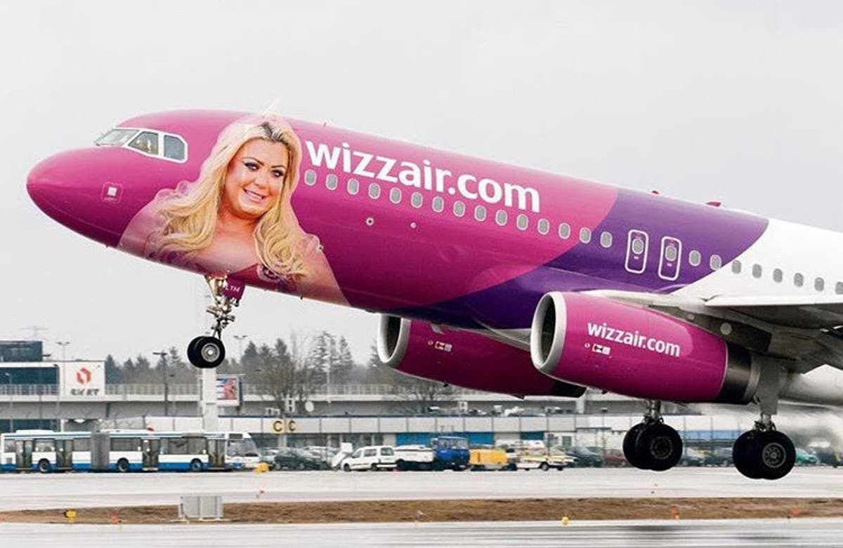 Essex Diva Gemma Collins Becomes Face Of Budget Airline Wizz Air After Posting Pics And Workout Videos During Holiday On Spain S Costa Del Sol Olive Press News Spain