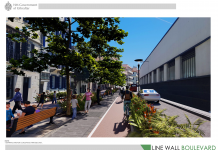 Line Wall Boulevard Visual 1