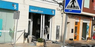Masked Gang Strike Again To Blow Up Bank On Spain S Costa Blanca