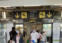 Terenia Airport Arrivals