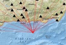 Earthquake Alboran Sea