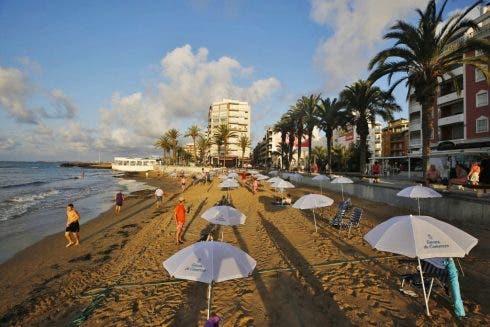 Free Parasols Torrevieja