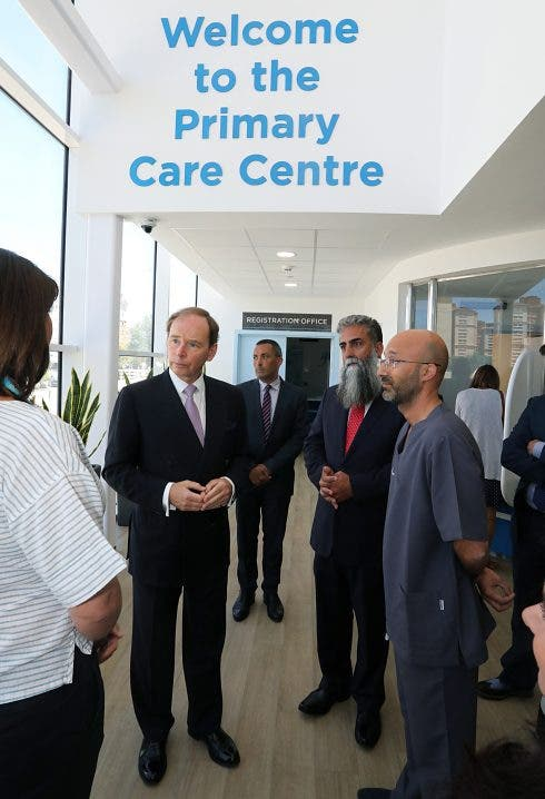 Governor Primary Care Visit