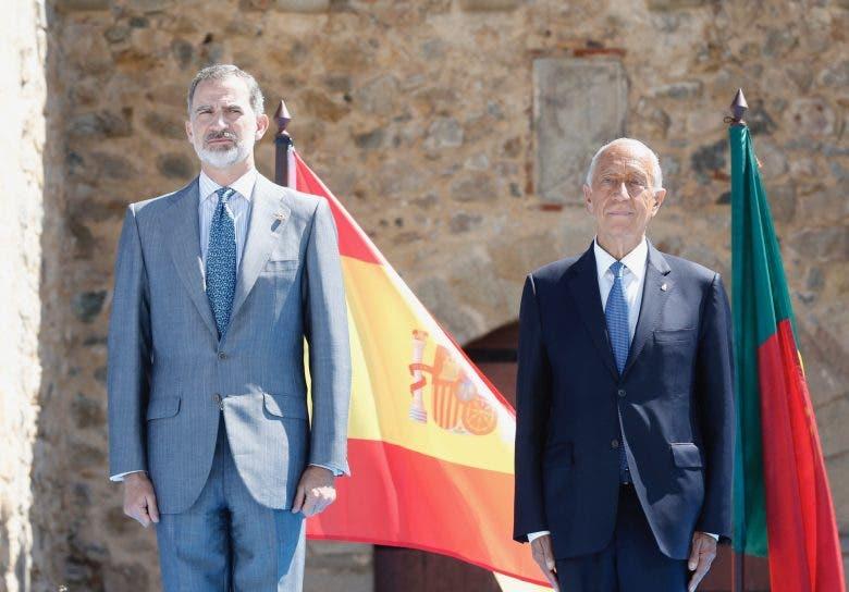 King Of Spain Presdient Portugal Marcelo Rebelo de Sousa