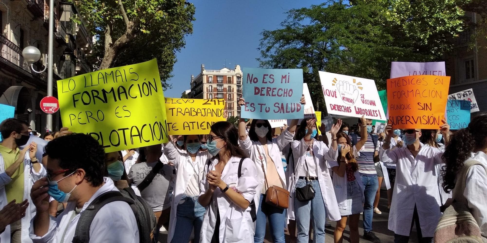 Medical Protests