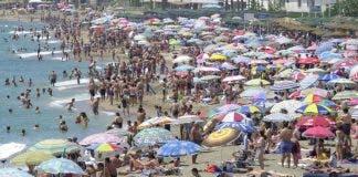 Packed Beaches