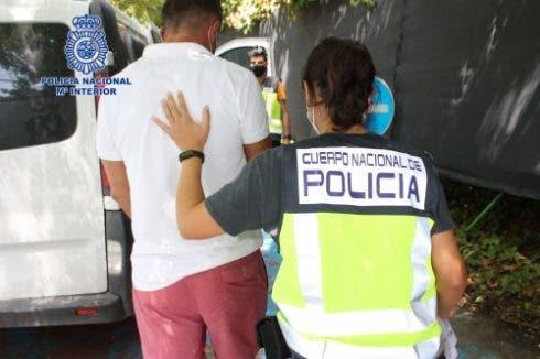Murcia Police Arrest Drugs Gang