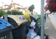 Playa Flamenca Rubbish 2