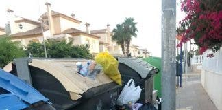 Playa Flamenca Rubbish 2